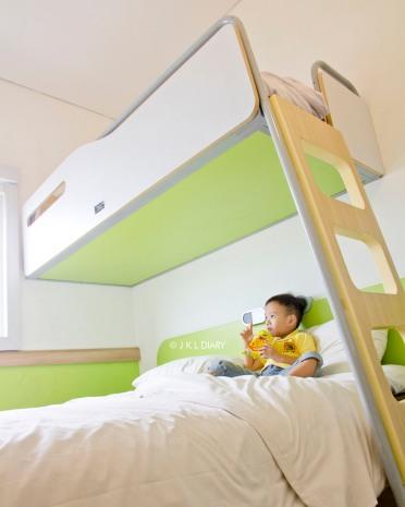 Standard Room dengan bund bed