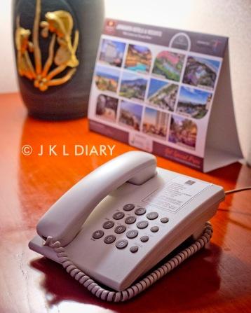 Telpon di working desk