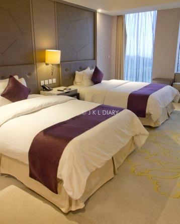 Premium room dengan double bed