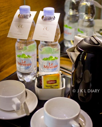 Tea/coffee maker fasilities