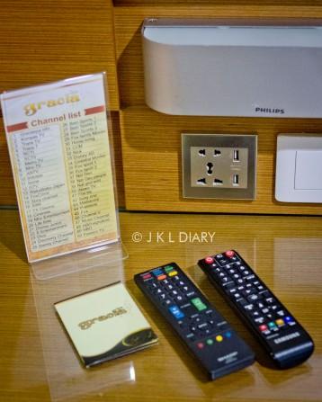 Remote & TV channel