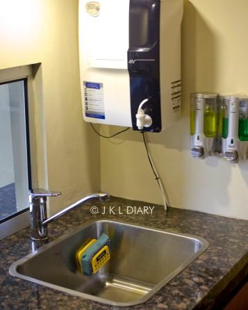 Water purifier & wash basin