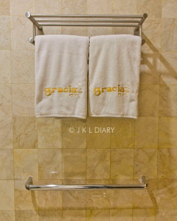 Towel & hanger