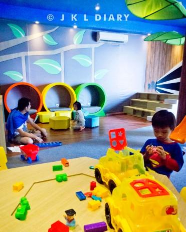 Kids Corner di Intercontinental Hotel Bandung