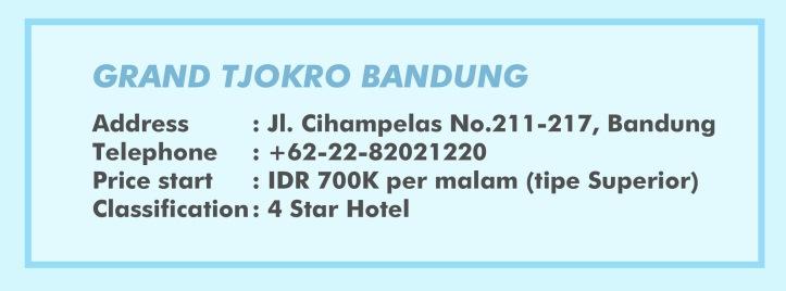 Box Info Grand Tjokro