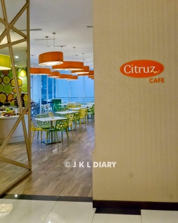 Citruz Cafe (lantai 1)