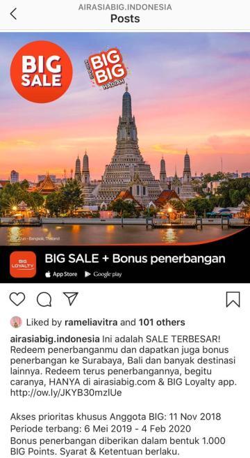 Big Sale promo 1