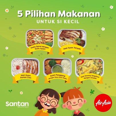 SANTAN menu 2