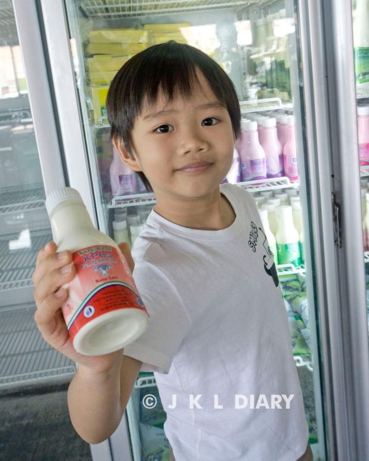 Favoritnya Keith: yoghurt leci