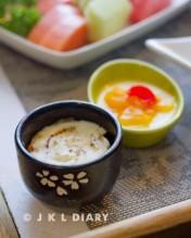 cream brulee & bread pudding