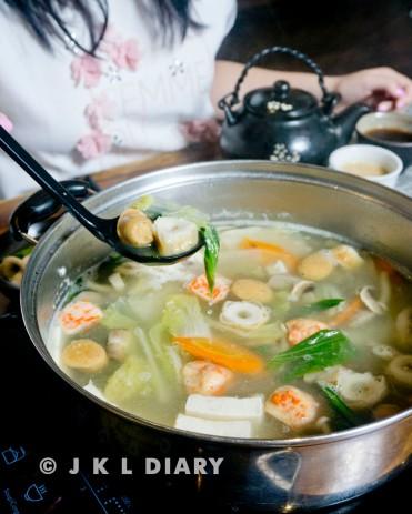 shabu-shabu with original soup